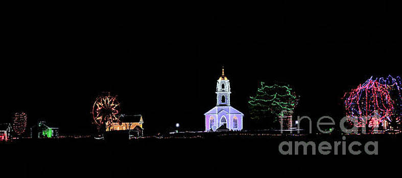 Upper Canada Village - Christmas Lights by Robert McAlpine