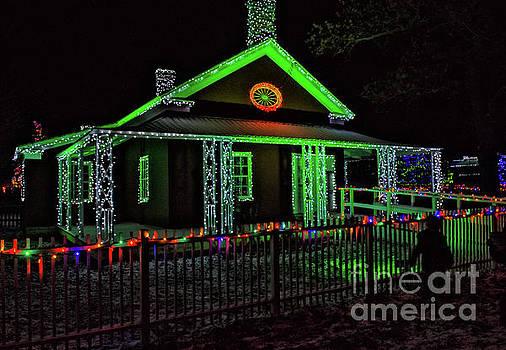Upper Canada Village - Dressmaker's Shop - Christmas Lights by Robert McAlpine