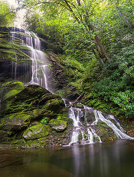 Upper Catawba Falls by Dawnfire Photography