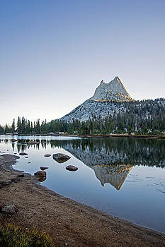 Upper Cathedral Lake by Angie Schutt