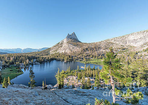 Upper Cathedral Lake Yosemite by Mark Chandler