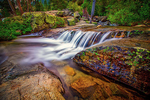Upper Eagle Falls by Andrew Zuber