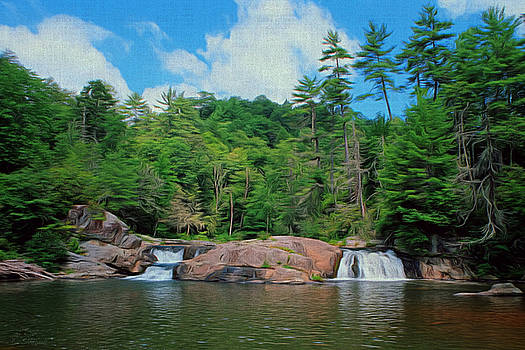 Upper Falls of Linville by Brian Shepard