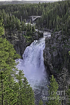 Tim Moore - Upper Falls of the Yellowstone River