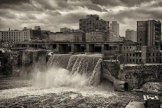 Upper Falls, Rochester NY by Scott Fracasso