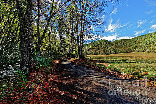Upper Field At Cataloochee Valley by Paul Mashburn