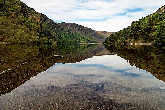 Upper Lake Glendalough by Martina Fagan