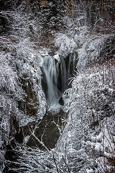 Ray Van Gundy - Upper Roughlock Falls in Winter