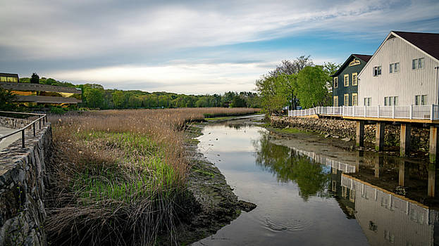 Upper Saugatuck River - Westport by Mike-Hope by Michael Hope
