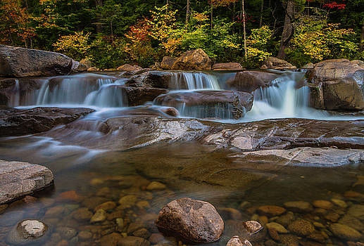 Ranjay Mitra - Upper Swift River Falls in White Mountains New Hampshire