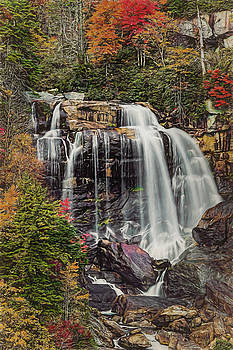 Upper Whitewater Falls North Carolina by Bellesouth Studio