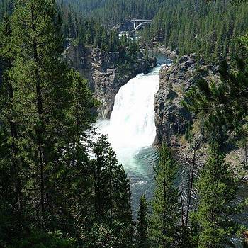 #upperfalls #yellowstonenationalpark by Patricia And Craig