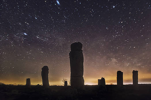 Upright Stones by Evgeni Dinev