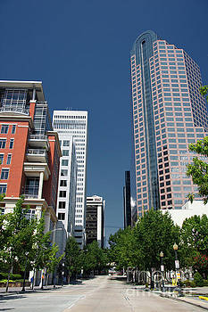 Uptown Charlotte by Jill Lang