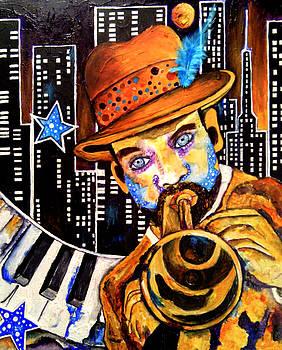 Uptown Jazz Funk by Angela Green