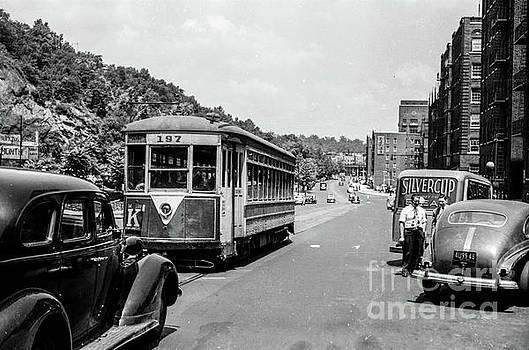 Uptown Trolley near 193rd Street by Cole Thompson