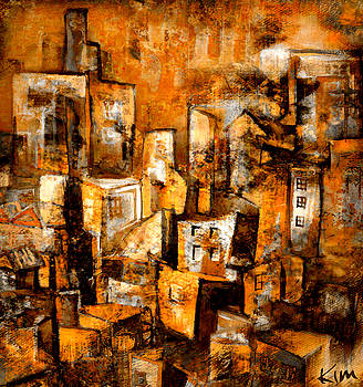 Urban Abstract #1 by Kim Gauge