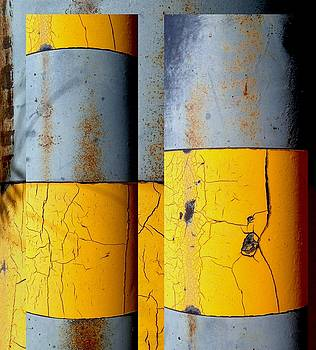 Marlene Burns - Urban Abstracts Seeing Double 50