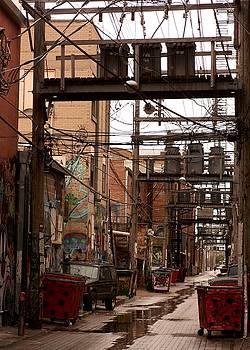 Urban Art meets Power Grid by Theresa Willingham