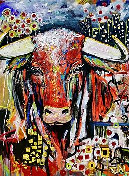 Urban Bull by Calina Mishay