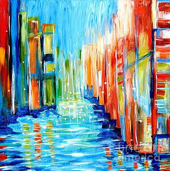 Urban City View by Art by Danielle