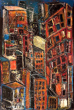 Jon Baldwin  Art - Urban Congestion