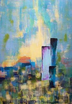 Urban dusk by Jane Robinson
