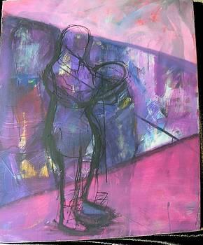 Urban figure by Karen Geiger