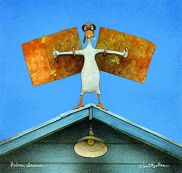 urban Icarus... by Will Bullas