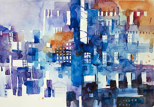 Urban landscape no.1 by Alessandro Andreuccetti