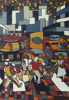 Urban music I V by Muniz Filho