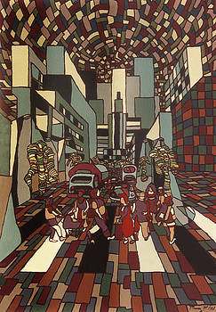 Urban music Vl by Muniz Filho