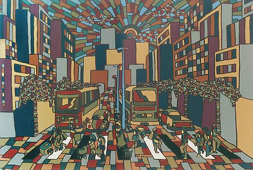 Urban music Xll by Muniz Filho