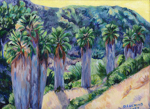 Urban Palm Trees by Darlene Luckins