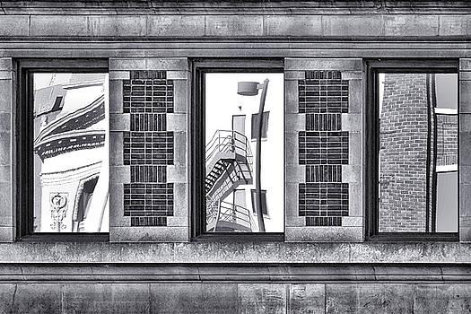 Nikolyn McDonald - Urban Reflection Triptych