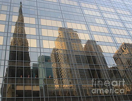Urban Reflections - New York City by Dora Sofia Caputo Photographic Design and Fine Art