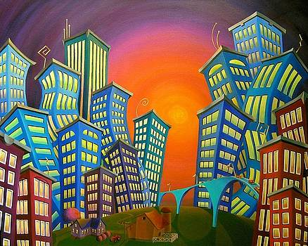 Urban Sprawl by Eva Folks