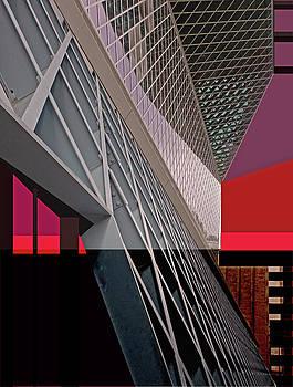 Urban Sunset by Walter Fahmy