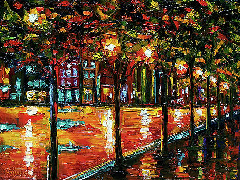 Urban Trees by Debra Hurd