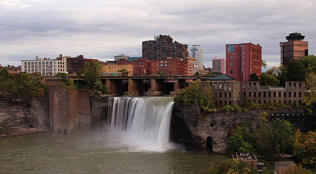 Urban Waterfall by Kelly Lucero