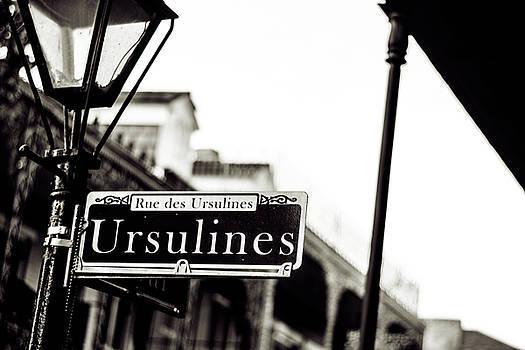 Chris Coffee - Ursulines in Monotone, New Orleans, Louisiana