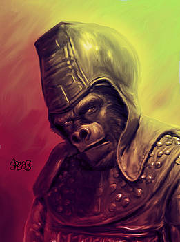 Ursus Planet of the Apes by Mark Spears