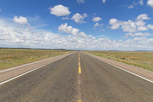 US 66 Between Seligman and Grand Canyon Caverns Az by Newman Artography