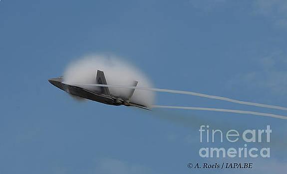 US Air Force F-22 Raptor  #004 by Antoine Roels