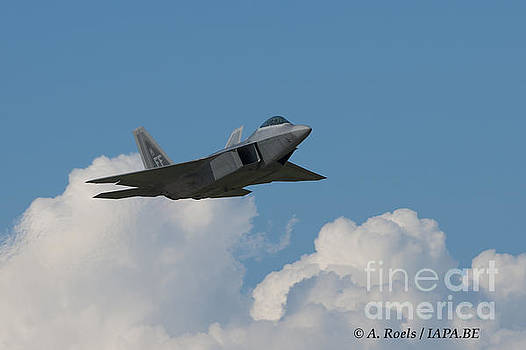 US Air Force F-22 Raptor by Antoine Roels