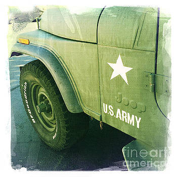 US Army Jeep by Nina Prommer