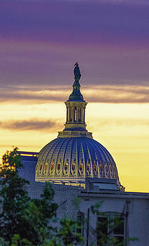 US Capitol by Mary Pat Collins