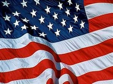 Us Flag by Peter A Fernie