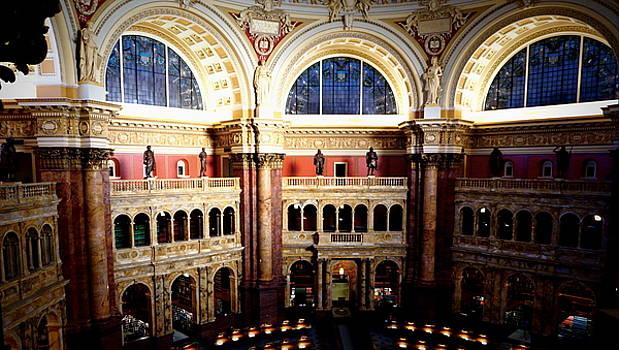 U.S. Library of Congress Interior 2 by Katy Hawk