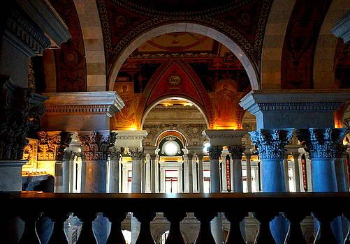 U.S. Library of Congress Interior by Katy Hawk
